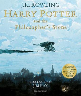 Harry Potter Philosopher's Stone ILL PB by