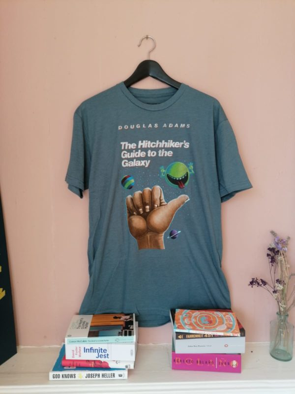 The Hitchhiker's Guide to the Galaxy t-shirt by