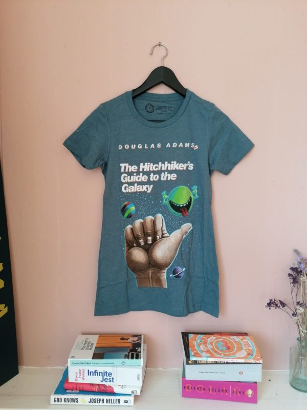The Hitchhiker's Guide to the Galaxy fitted t-shirt by