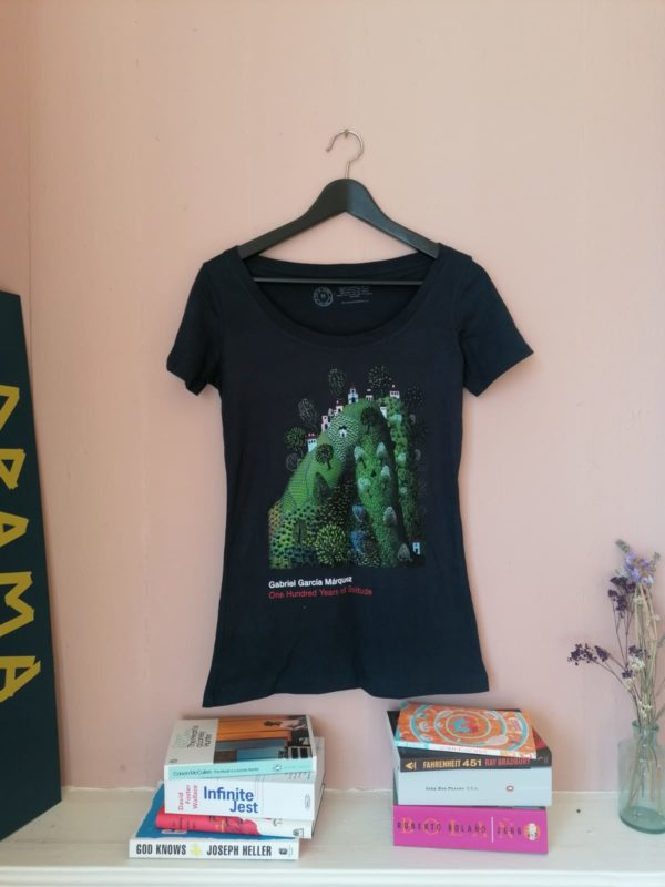 One Hundred Years of Solitude fitted t-shirt by