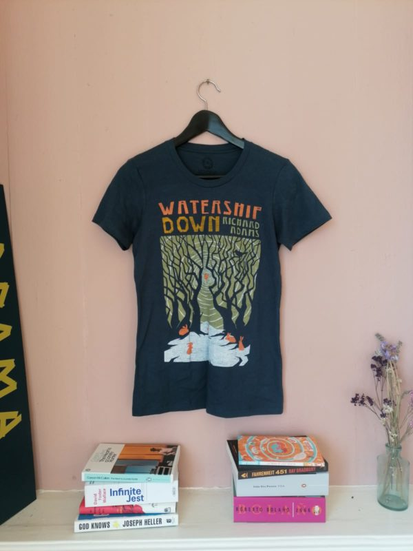 Watership Down fitted t-shirt by