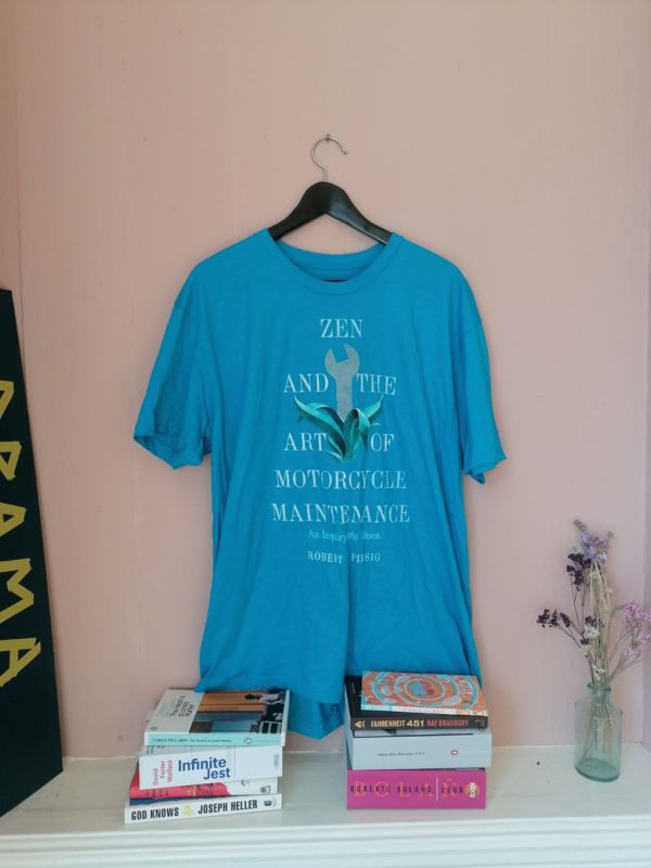 Zen and the Art of Motorcycle Maintenance t-shirt by