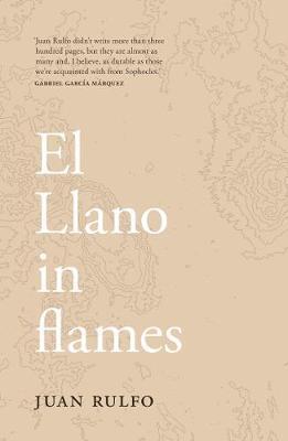 El Llano in flames by